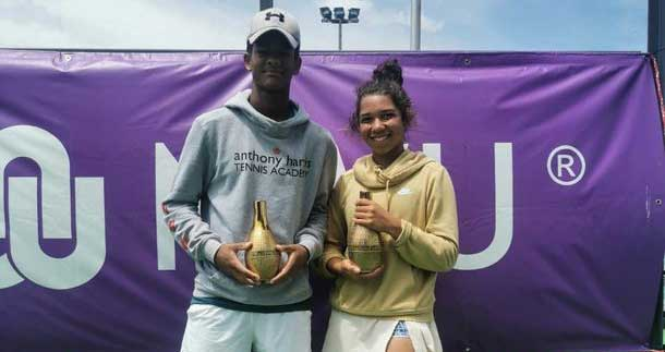 Kelly Arends and Mikaeel Woodman awarded tennis scholarships in the USA!
